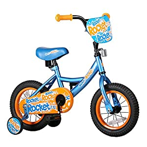 Joystar 12 Inch Kids Bike for 2-4 Years Boys, Child Bicycle with Training Wheels, Coaster Brake, 85% Assembled