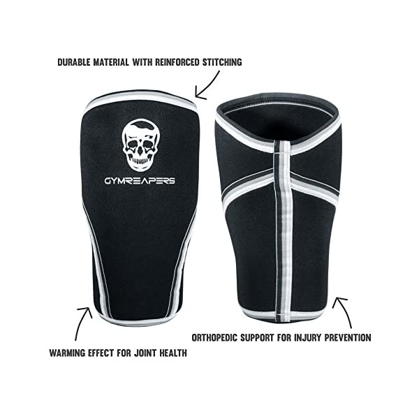 a43c3fe50a Knee Sleeves (1 Pair) Free Gym Bag – Knee Sleeve & Compression Brace for ...