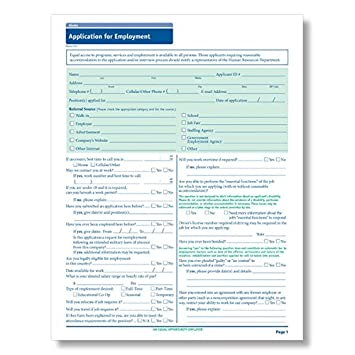 amazon com complyright california employment application 50 pk