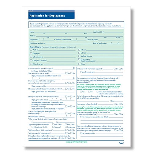 Employment Forms - 6
