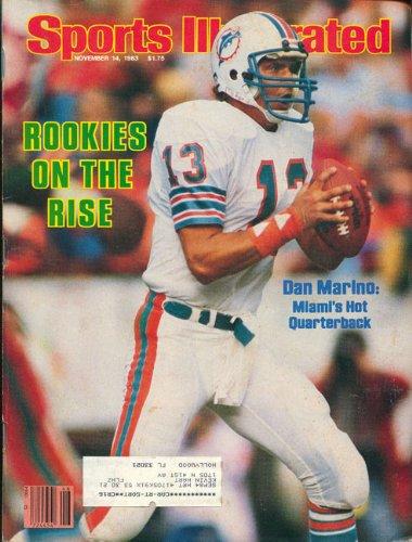 Dan Marino November 14, 1983 Sports Illustrated Magazine