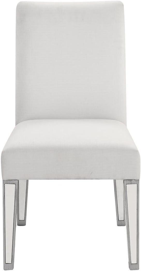 Elegant Decor Chair, Silver, Silver