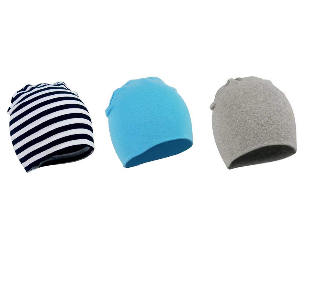 Xinshi Girls Baby Cotton Cloth Turban Kont Toddler Tabbit Ear Hat Kids Set Head Cap (BQD2 (3PCS))