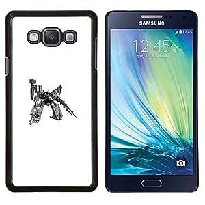 LECELL--Funda protectora / Cubierta / Piel For Samsung Galaxy A7 A7000 -- Mech Warrior enorme robot --
