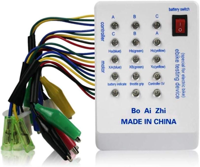 E-Bike Tester Controller AOUTLE 24V//36V//48V//60V//72V Brushless MotorTester Electric Car Tester Brushless Motor Device Tester Controller