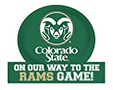 Colorado State Rams Jumbo On Our Way Magnet