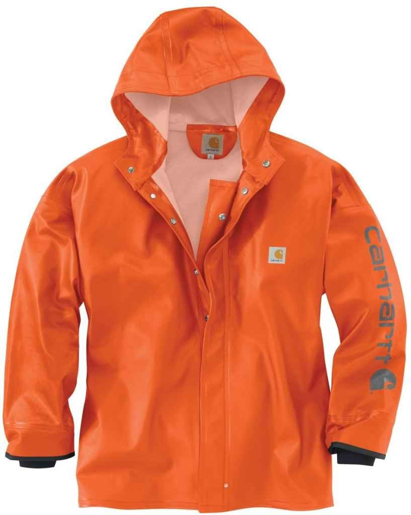 Carhartt Men's 102082 Belfast Coat - Medium - Orange