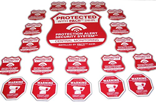 Home Alarm Stickers - 7