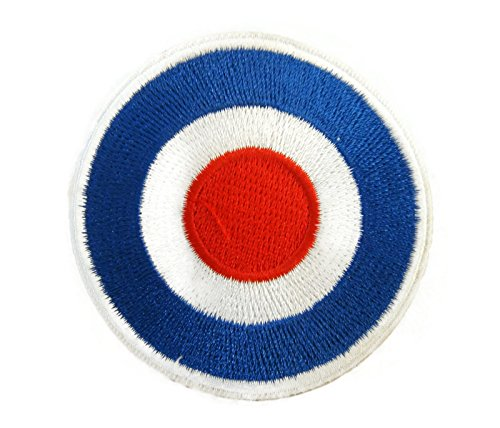 Vespa Mod Target Motorcycles Biker Scooter P386 Applique Embroidered Iron on Patch