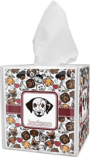 Dog Faces Tissue Box Cover - Why Ne Always