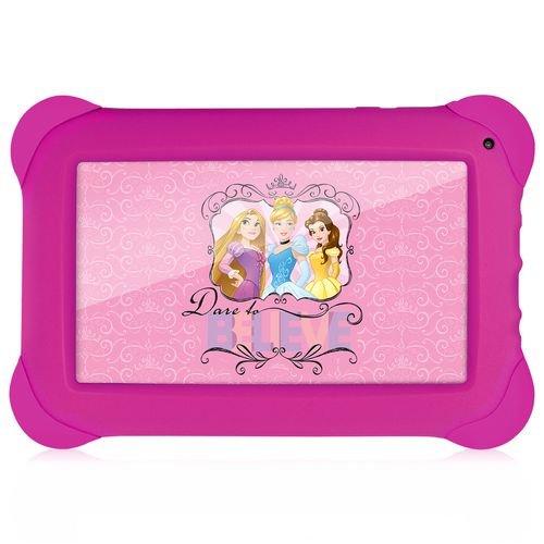 "Tablet Disney Princesas, Multilaser, NB239, 8 GB, 7"", Rosa"