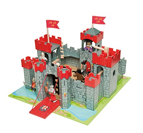 Wooden Castle Playset - 5
