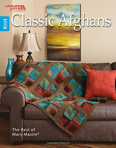 Classic Afghans   Leisure Arts (6790) (Best of Mary Maxim)