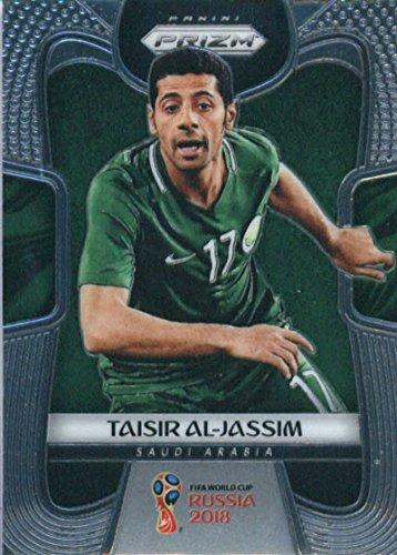 2018 Panini Prizms Silver Refractor Prizm #176 Taisir Al-Jassim Saudi Arabia World Cup Russia Futbol Card