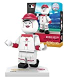 Oyo Sportstoys MLB Cincinnati Reds Rosie Red Generation 5 Minifigure, Small, Black