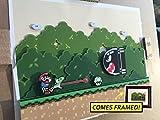 Super Mario World Diorama (Framed Artwork) SNES