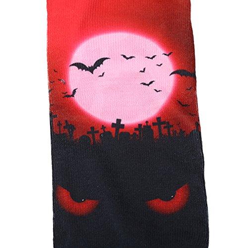 Mayshow Chaussettes Halloween, Chaussettes Antibactériennes Respirant La Nouveauté Non-présentation Cadeau Sockshalloween 07 #