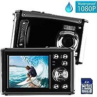 DECOMEN Waterproof Digital Camera Underwater Sport...
