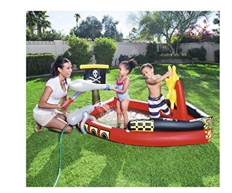 Pirate Play Pool 6.2 Feet x 55 Inches H2OGO