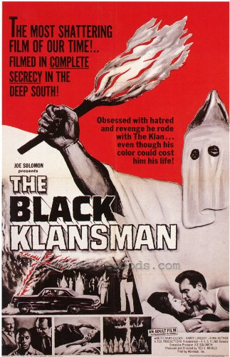 (The Black Klansman Poster 27x40 Richard Gilden Rima Kutner Harry Lovejoy )