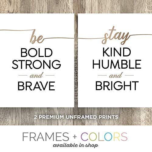 Amazon Com 8 X10 Unframed Prints Cute Home Decor Be Bold