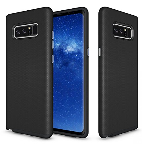Galaxy Note 8 Case, Vigeer [Non-slip] [Soft TPU Interior] [Durable PC Exterior] Full Body Protective Rugged Holster Cover, Dual Layer Shock Resistant Case for Samsung Galaxy Note 8