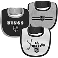 3Piece NHL Layette Newborn Fair Catch Pink Bib Set