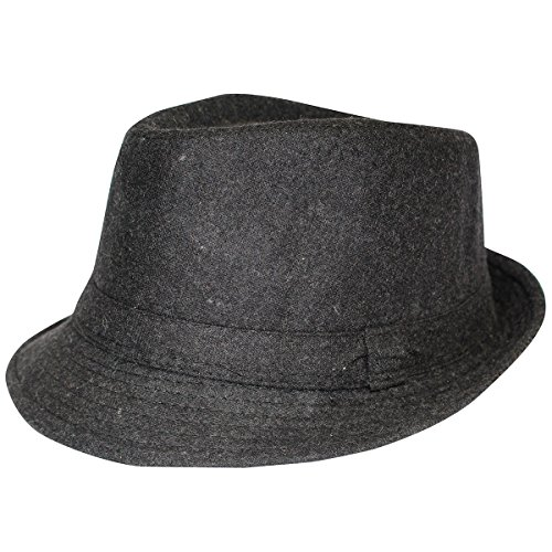 Fedora Hat for Women - Felt Fedora Hats for Men - Gangster Hats by CoverYourHair! (Female Gangster Costume)