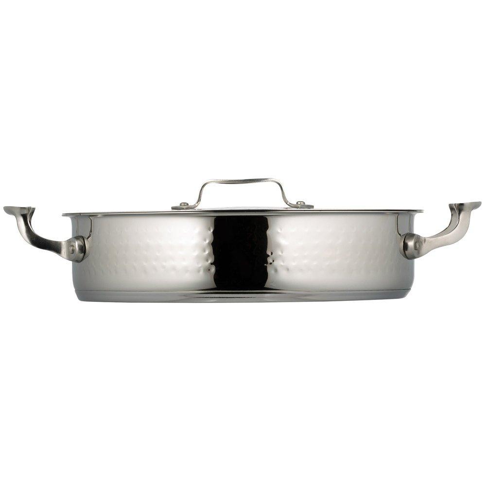 ボンシェフ60030hf Cucina 6 Qt。Hammered Brazier Pot withカバー B016FUEMPM