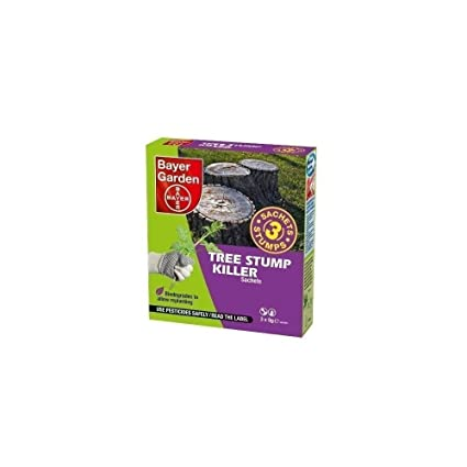 SBM Life Science Bayer Garden Tree Stump Killer Sachets - 3 X 8 G