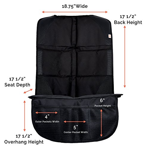 Car Seat Protector For Under Car Seat Covers Entire Seat