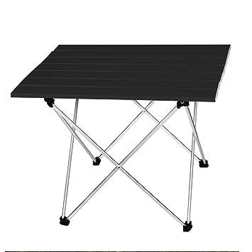 Amazon.com: GYFHMY Mesa plegable ajustable de aluminio ...