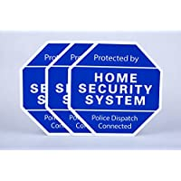 SummitLink 3 x Generic Yard Sign for Home Security System