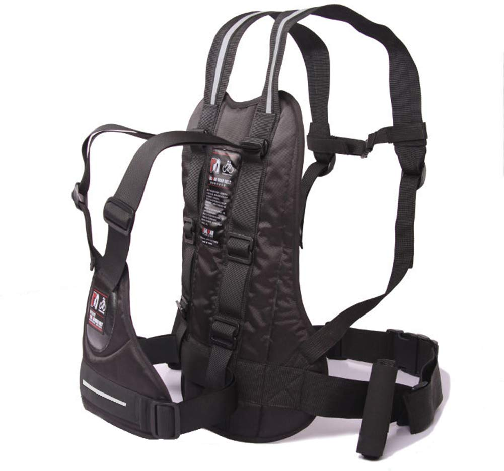 LOLBUY High Strength Childrens Motorcycle Safety Harness Can be Adjusted Up and Down,Black. by LOLBUY (Image #1)