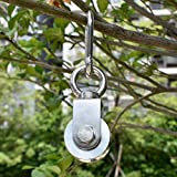 Penkwiio Swivel Pulley 304 Stainless Steel Duplex