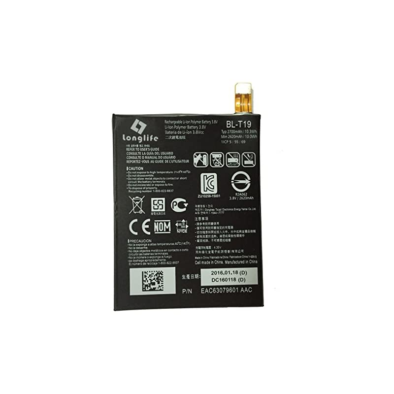 LONGLIFE BL-T19 Li-Ion 2700mAh Battery f