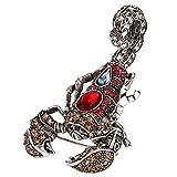 EVER FAITH Austrian Crystal Vintage Style Scorpion Animal Brooch