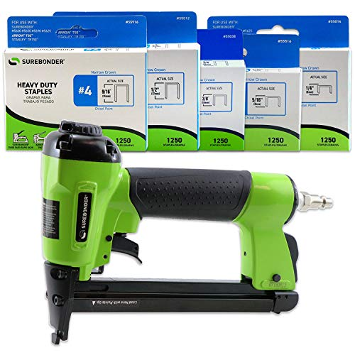 Surebonder 9600AK Pneumatic Heavy Duty Standard T-50 Type Stapler Kit