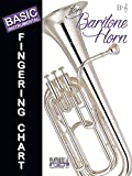 img - for Basic Fingering Chart for Baritone Horn in Treble Clef in Bb book / textbook / text book