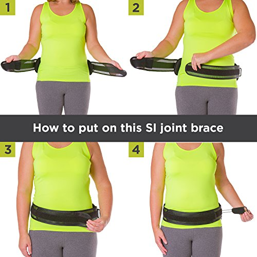 how to sit to relieve si joint pain