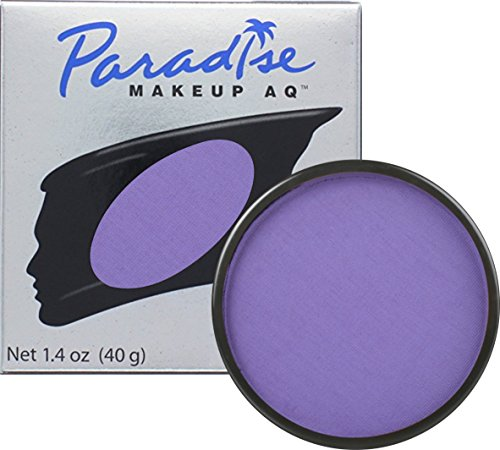 Painting Violet (Mehron Makeup Paradise AQ Face & Body Paint, VIOLET: Pastel Series - 40gm)