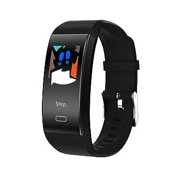 Fancylande Reloj Inteligente,TF6 Pulsera inteligente Deportes Pulsera de ritmo cardíaco HD Pantalla en color