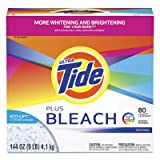 Laundry Detergent with Bleach, Original Scent, Powder, 144 oz Box, Sold as 2 Each