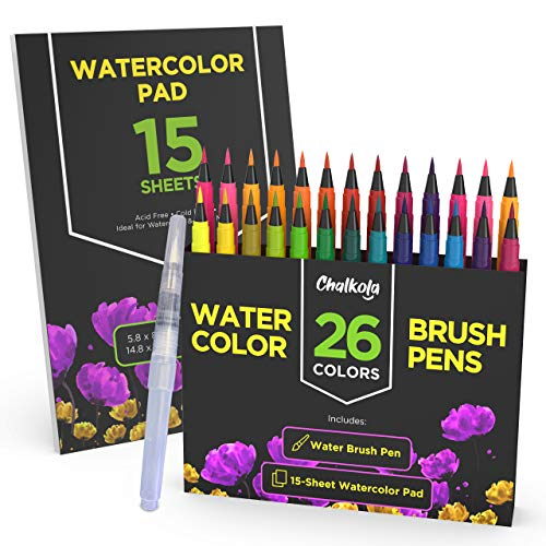 Watercolor 15 Sheet Painting Flexible Non Toxic product image