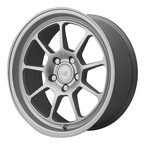 Motegi MR135 18×9.5 Silver Wheel / Rim 5×4.5 with a 15mm Offset and a 72.60 Hub Bore. Partnumber MR13589512415