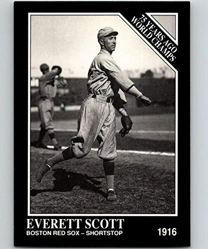 1991 Conlon Collection #149 Everett Scott NM Baseball MLB Red Sox from Conlon Collection