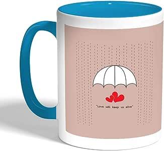 كوب سيراميك للقهوة أو الشاي، ماركة ديكالاك، mug-TRQ-03026