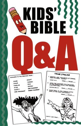 Kids' Bible Q & A (Kid's Bible Activities): Ken Save, Vickie Save