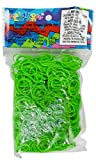 jelly bands rainbow loom - Rainbow Loom Lime Green Rubber Bands with 24 C-Clips (600 Count)