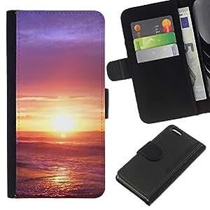 All Phone Most Case / Oferta Especial Cáscara Funda de cuero Monedero Cubierta de proteccion Caso / Wallet Case for Apple Iphone 5C // Sunset Beautiful Nature 33